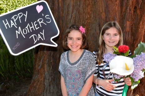 Mother's Day Sisters with Flowers edited