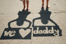 We heart dad from twogirlzstuff blog used with permission