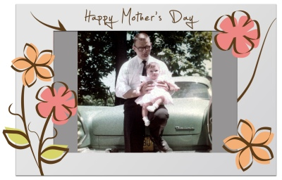 Throwback Thursday pix make a great Mother's Day gift when gathered in a Photo Mambo Frame