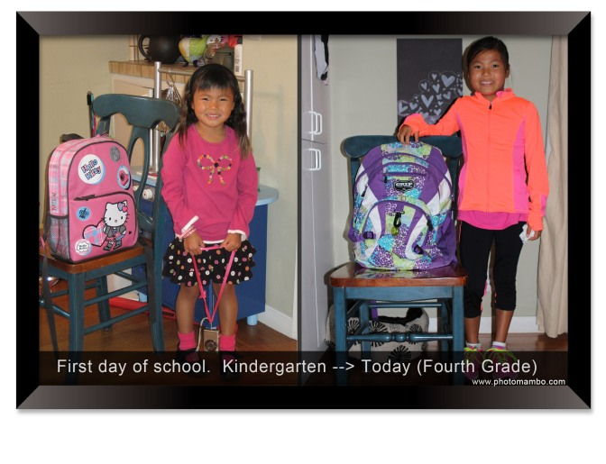 First Day of School Photo Traditions
