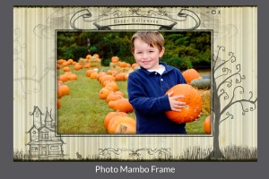 For blog Photo Mambo Frame hallween